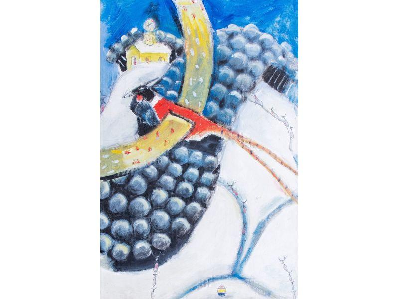 Landscape-38x55 cm - Hristo Hristov- Yoshkata