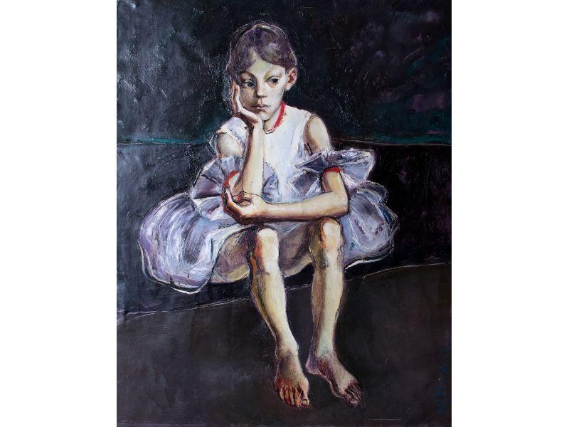 Портрет-98x125 cm - Юри Буков