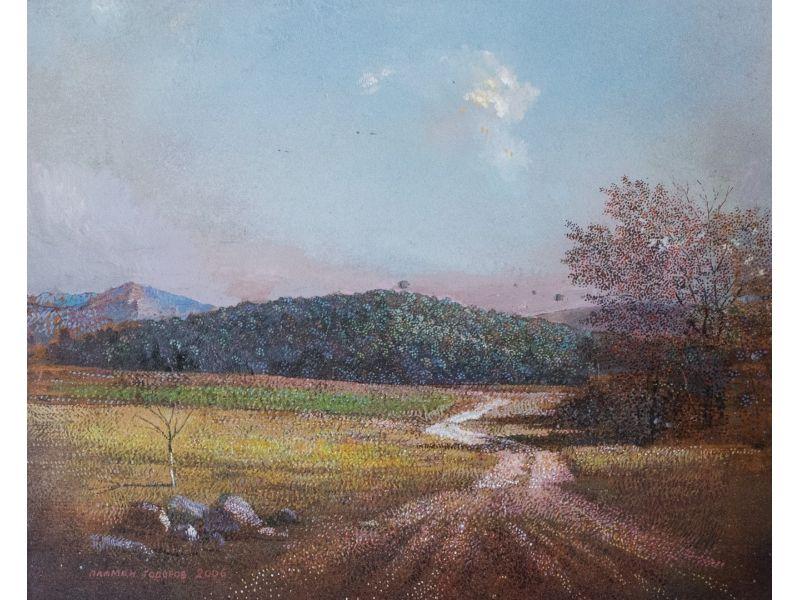 Landscape-35x30 cm - Plamen Todorov