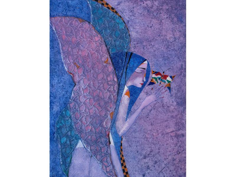 Figurative-65x81 cm - Peter Michev-Pedro