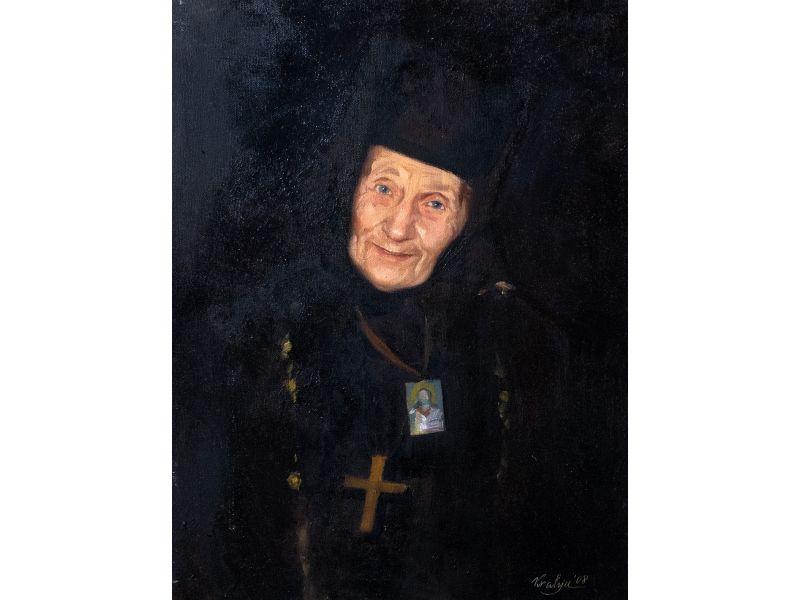 Portrait-46x61 cm - Krasimir Lyutskanov