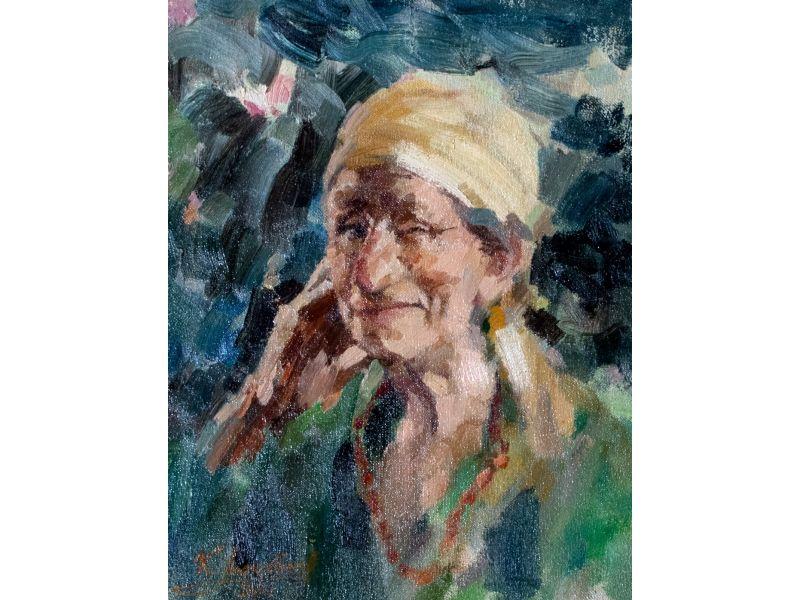 Портрет-34x45 cm - Красимир Люцканов