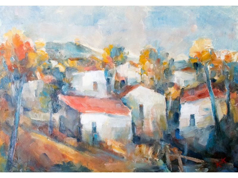 Landscape-70x50 cm - Kancho Kanchev