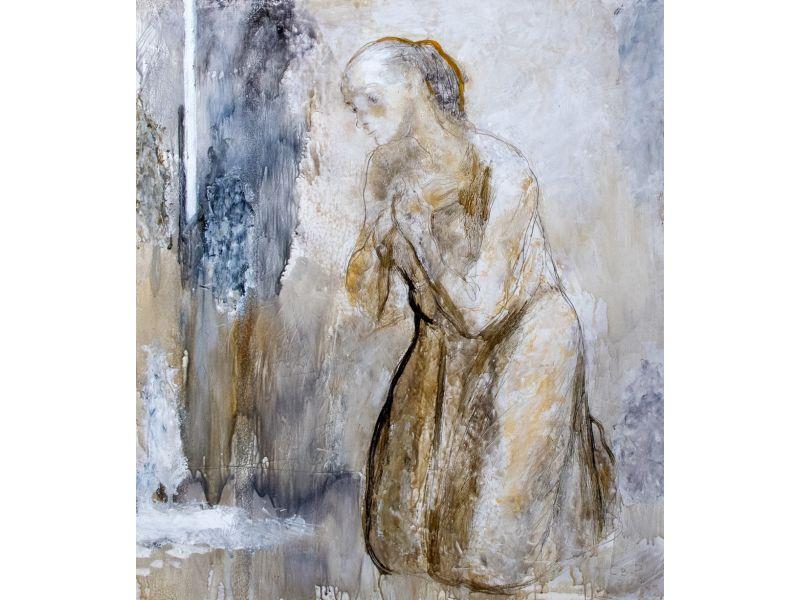 Поклонение-Композиция-60x70 cm - Светлин Русев