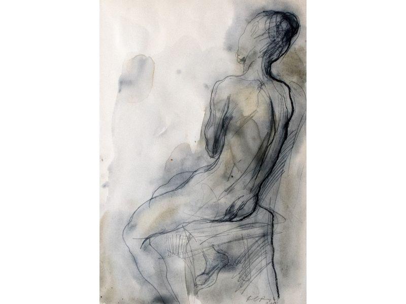 Nude-40x55 cm - Svetlin Rusev