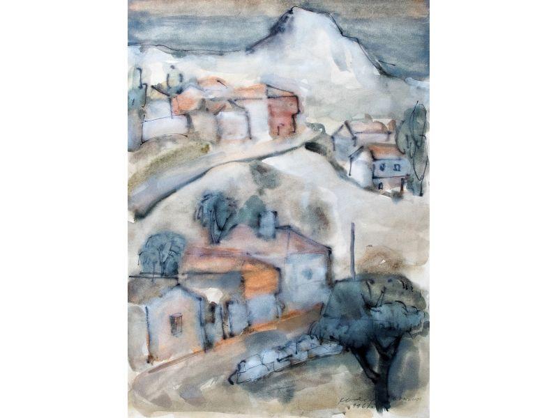 Landscape-55x75 cm - Svetlin Rusev