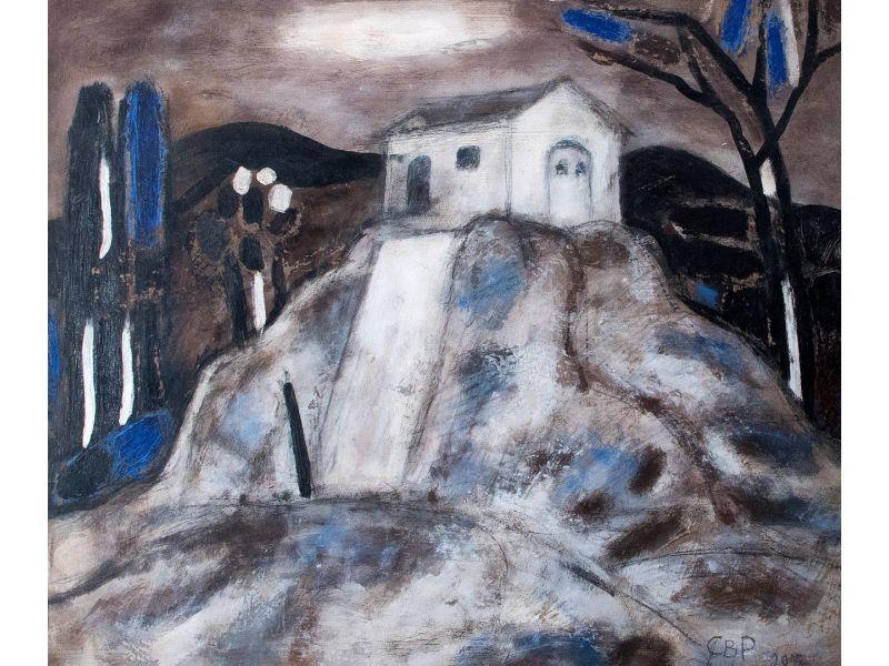 Landscape-53x46 cm - Svetlin Rusev