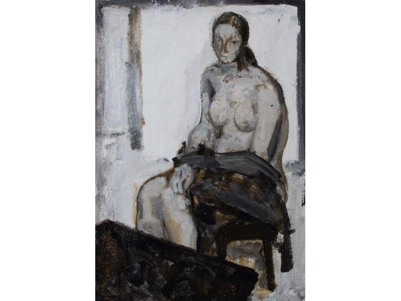 Nude-50x70 cm - Svetlin Rusev