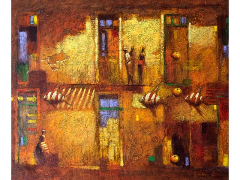 Figurative-73x60 cm - Rumen Nistorov