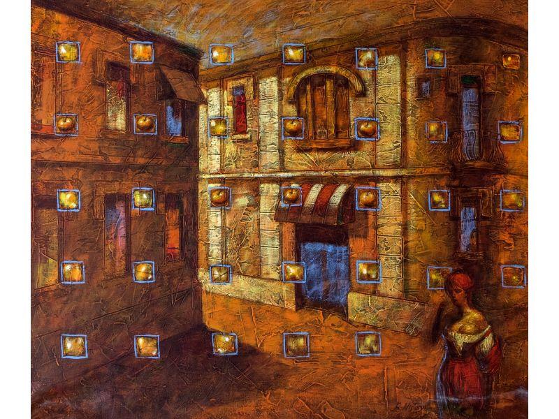 Figurative-70x60 cm - Rumen Nistorov