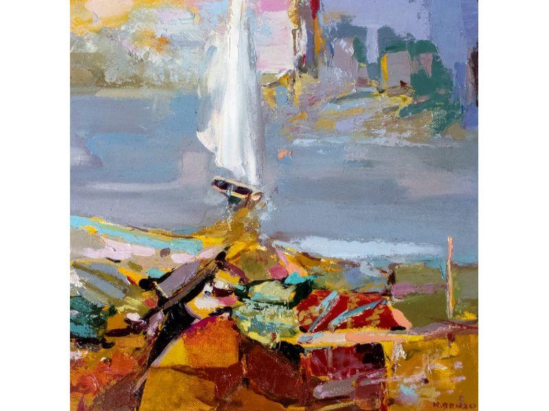 Landscape-40x40 cm - Karlo Vendo