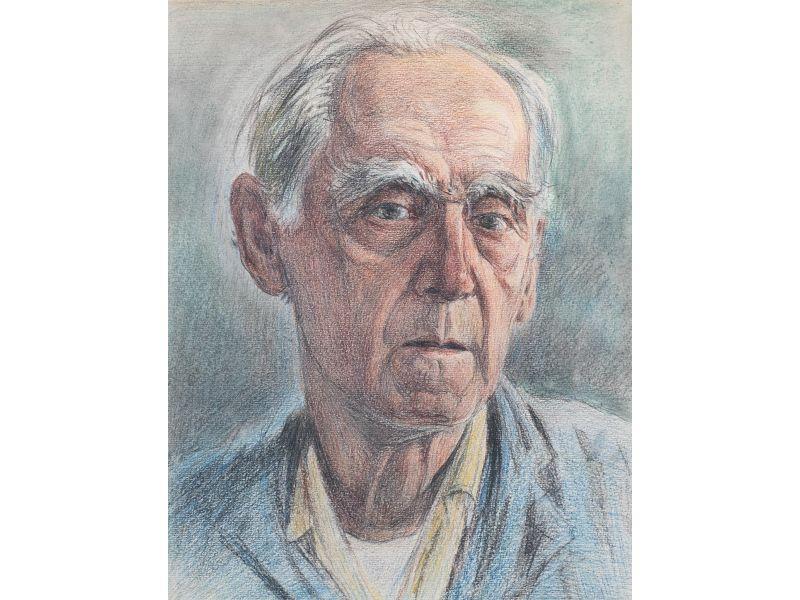 Автопортрет Георги Железаров-Портрет-32x40 cm