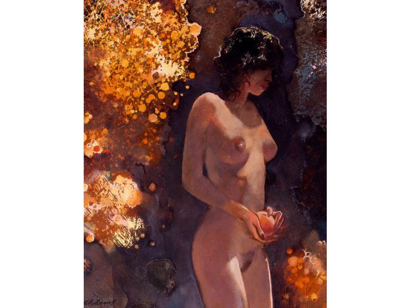 Щедра есен-Голо тяло-55x67 cm