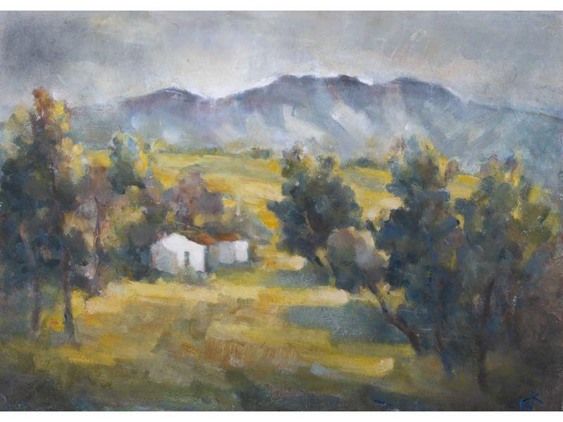 Пейзаж-70x50 cm