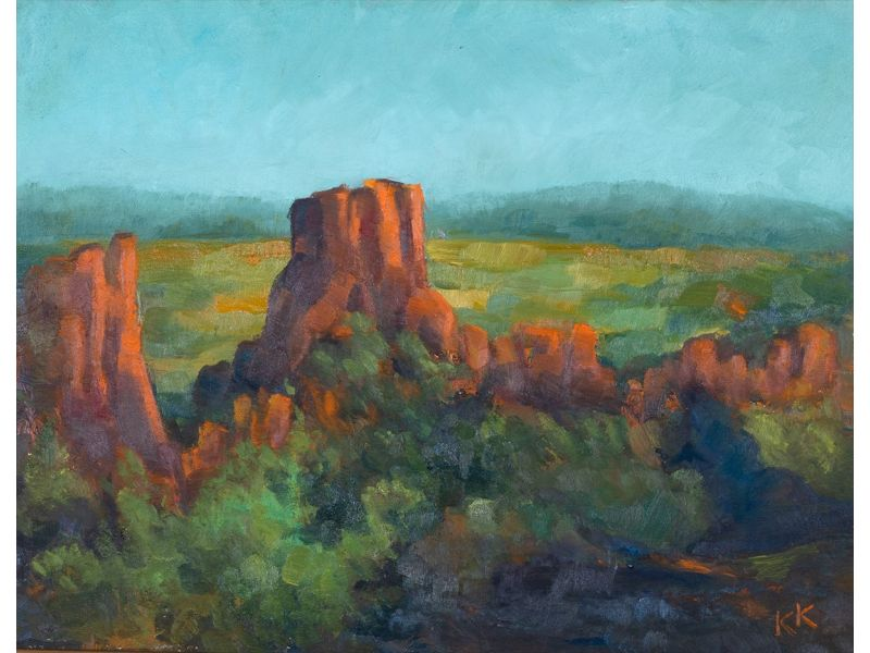 Скален пейзаж-Пейзаж-60x46 cm